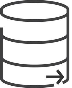 Data 8 Minimal Icon