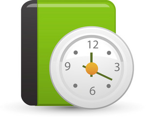 Date Time Lite Media Icon