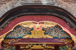 Dazaifu Tenmangu Shrine detail close up