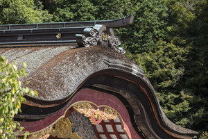 Dazaifu Tenmangu Shrine detail