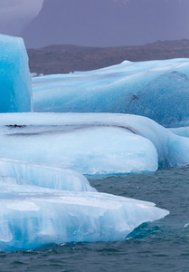 Close up of an iceberg