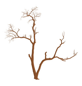 Dead Tree Shape Element
