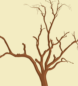 Dead Tree Vector Branches
