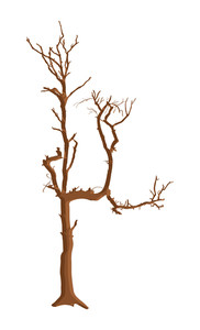 Dead Tree Vector Design