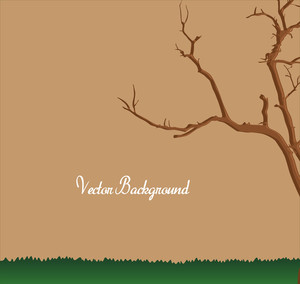 Dead Tree Vector Land