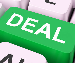 Deal Key Shows Contract Or Dealing