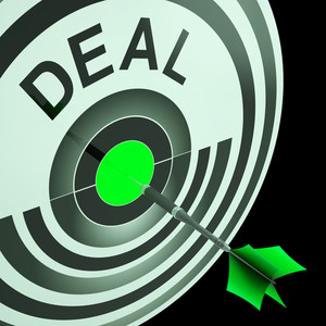 Deal Shows Reduction Or Bargain
