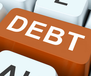 Debt Key Show Indebtedness Or Liabilities