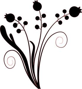 Decor Floral Shapes