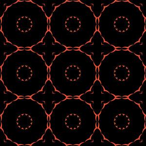 Decor Retro Pattern