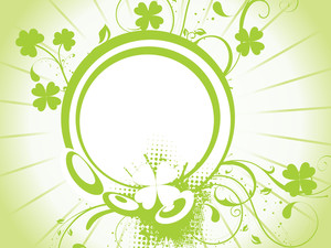 Decor Shamrock Floral Design
