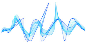 Decor Wave Lines Vector