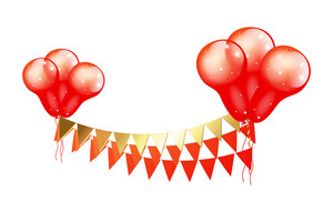 Decorative Anniversary Balloons