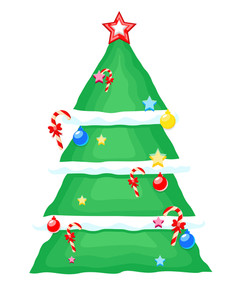 Decorative Christmas Tree Design