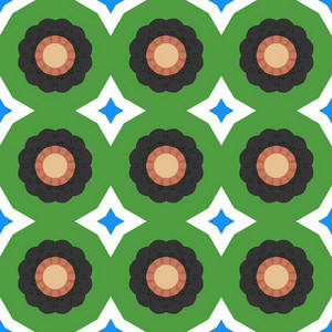 Decorative Circles Background