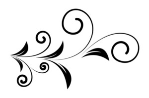 Decorative Floral Shape