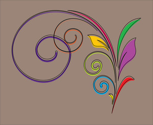 Decorative Flourish Design Element