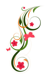 Decorative Flourish Design Elements Vector