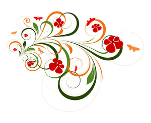 Decorative Flourish Graphic Design