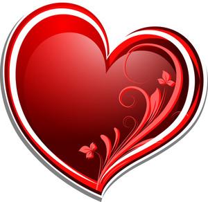 Decorative Flourish Heart