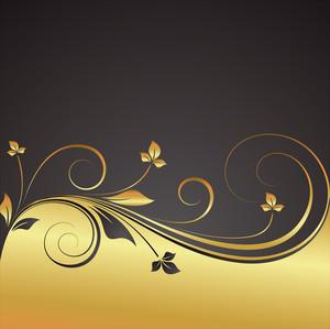 Decorative Flourish Template Design