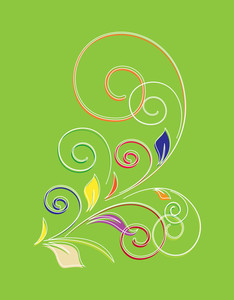 Decorative Flourish Vector Shape