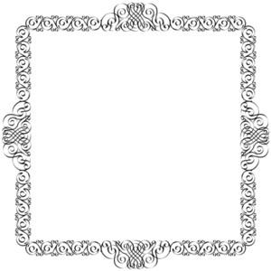 Decorative Frame For Design