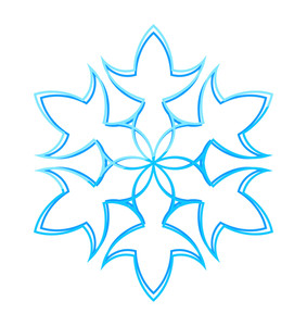 Decorative Snowflake Creative Art