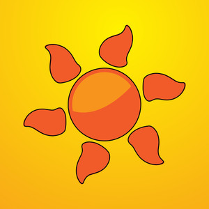 Decorative Sun Element