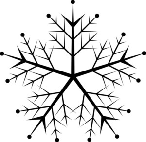 Decorative Xmas Snowflake