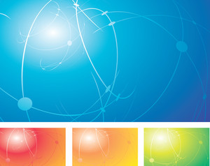 Deep Abstract. Vector Background.