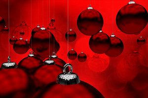 Deep Red Christmas