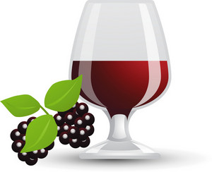 Deep Red Wine Icon