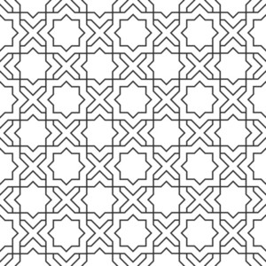 Delicate Pattern In Islamic Style