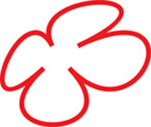 Design Element Of Clover Leaf.