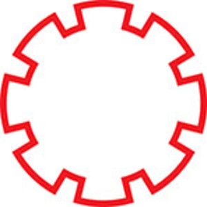 Design Element Of Cog Wheel.