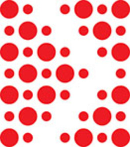 Design Element Of Filled Dots.