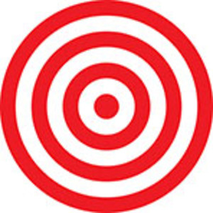 Design Element Of Shooting Target.