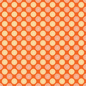 Design Pattern Of Pinwheels On An Autumn Background