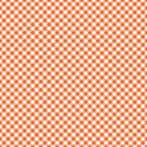 Design Pattern Of Red Checks On An Autumn Background