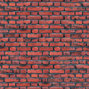 Design Texture Of Old Red Bricks