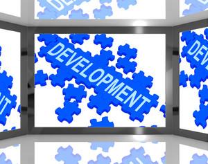 Development On Screen Shows Technology Updates