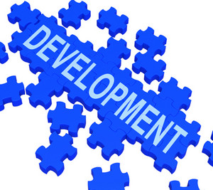 Development Puzzle Shows Business Improvement