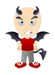 Devil Halloween Character