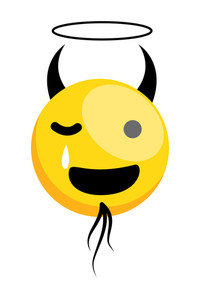 Devil Smiley Laughing