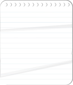 Diary Paper - Vector Background