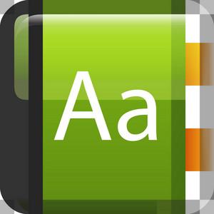 Dictionary Tiny App Icon