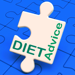 Diet Advice Shows Slimming Information And Recommendations