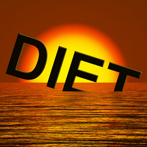 Diet Word Sinking Meaning Broken Diet