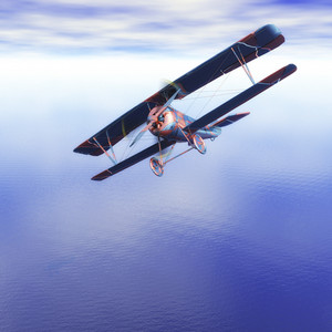 Digital Biplane Visualization